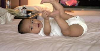 Bebè nel lettone