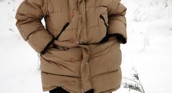 Donna nella neve