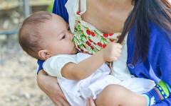 Prendersi cura del proprio seno durante l'allattamento