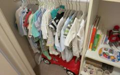 Come riorganizzare l'armadio durante la gravidanza