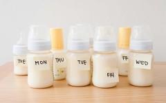 Si può conservare il latte materno?